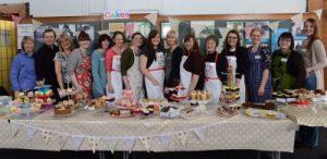 Free Cakes for Kids volunteers