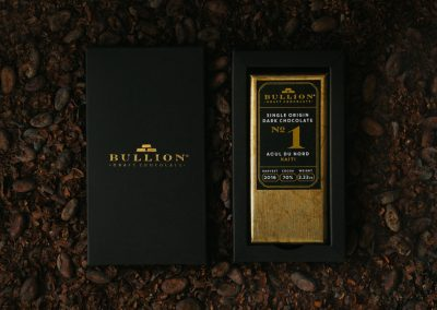 Bullion chocolate
