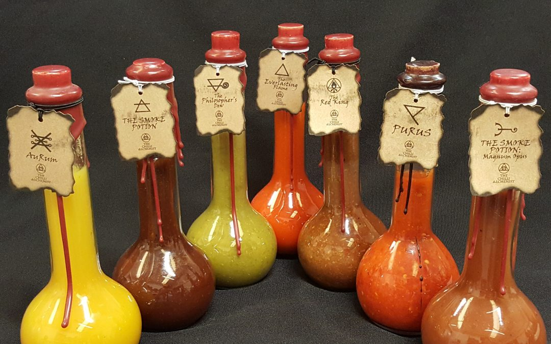 Chilli Alchemist, celebrating the fiery fruit