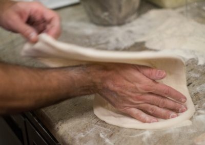 Proove dough