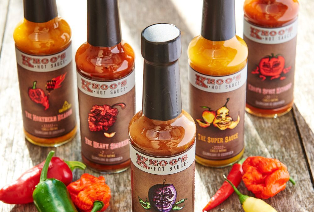 Khoo's Hot Sauce:  A commitment to high quality and low food mileage